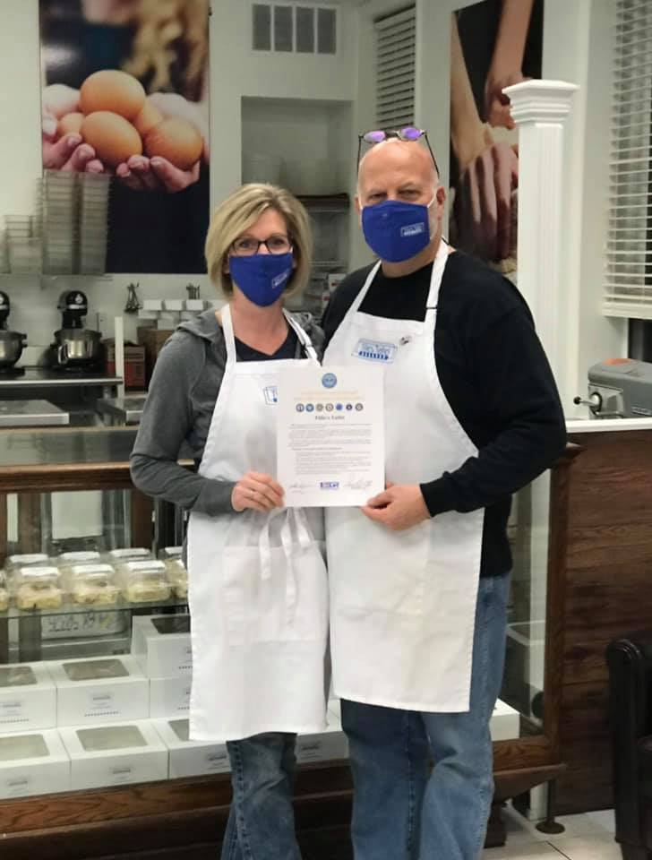 Jeff and Patti Dewes of Tillie's Tafel